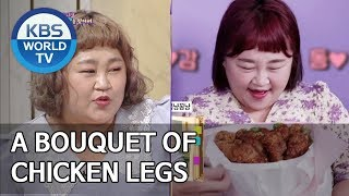 "Yoonhwa ""My husband gave me a bouquet of chicken legs"" [Happy Together/2019.07.11]"