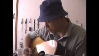 "Singing""Meet me by the Moonlight"" -Norman Blake Cover- ver.2"