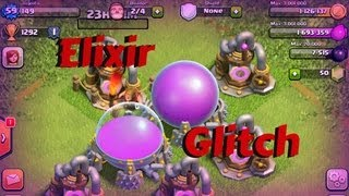 Clash of Clans GLITCH - ELIXIR DE GRAÇA!