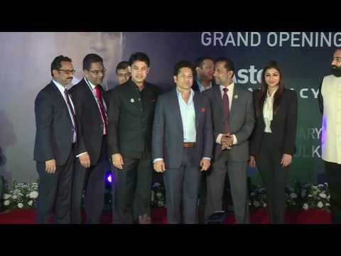News Clip - Sachin Launches Aster Pharmacy's Largest Sharjah Outlet