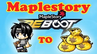 Maplestory Reboot Noob To Pro Episode 1 Introduction