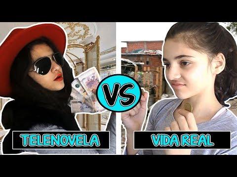 TELENOVELA VS VIDA REAL!