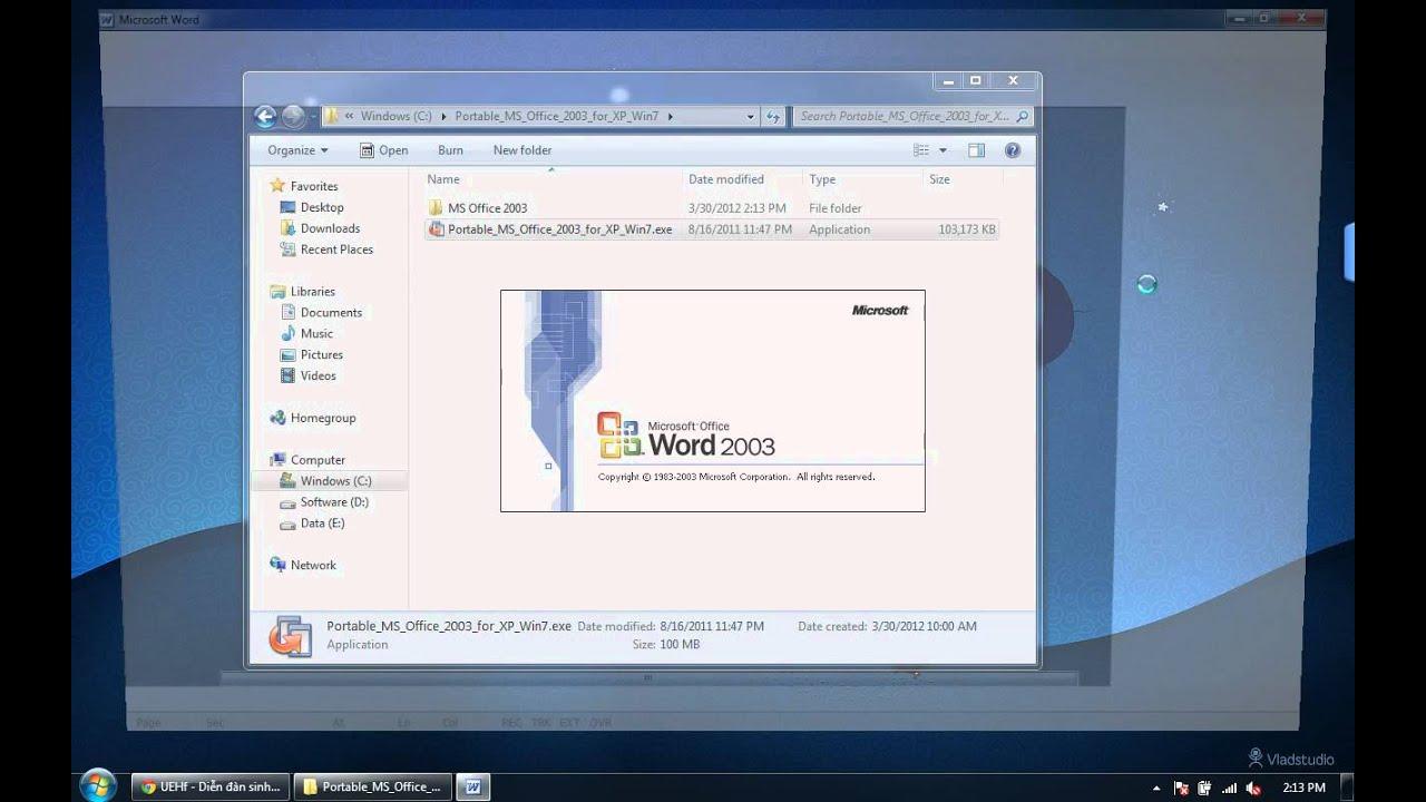 Word 2003 Portable NLT Release 2019 Ver.7.12 PreRelease