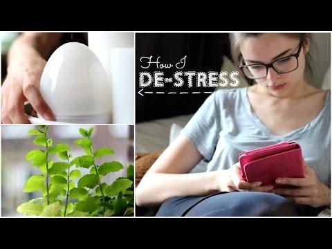 How I De-Stress & Reduce Anxiety