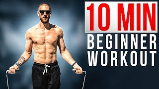 10 Minute Beginner Jump Rope Workout