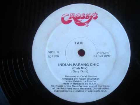 Taxi   Indian Parang Chic
