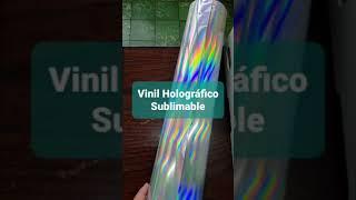 Vinil Sublimable Holográfico Autoadhesivo para Pruebas.