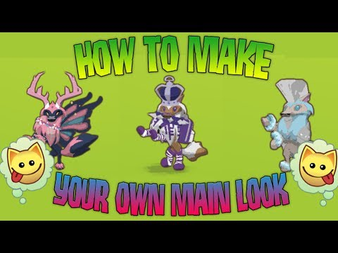 HOW TO MAKE YOUR VERY OWN MAIN LOOK ON ANIMAL JAM!