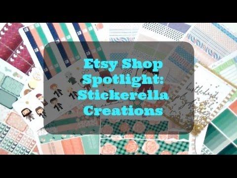Etsy Shop Spotlight: Stickerella Creations