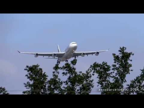"[FULL HD] SriLankan Airlines A340-313 ""Bumpy"" landing London-Heathrow"