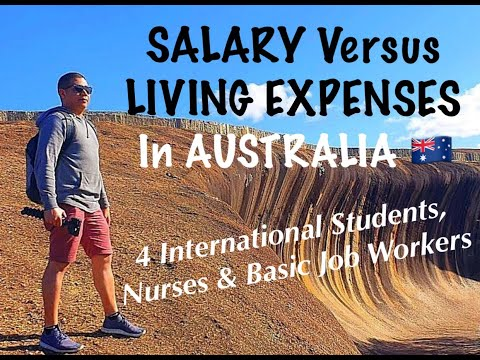 COST OF LIVING In AUSTRALIA Versus SALARY 🇦🇺 (4 NURSES & BASIC JOBS )🇦🇺