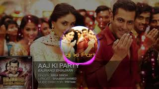 Aaj ki party meri taraf se((hindi song)-Dj dhamaka road block dance mix mp3.