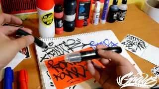 markers recargables para graffiti