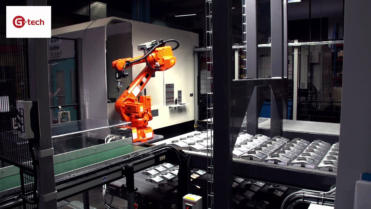 robot milling machine