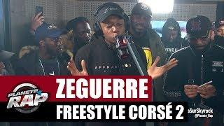 Смотреть клип Zeguerre - Freestyle Corsé 2 #planèterap