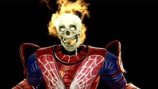 Spiderman vs Wolverine Mortal kombat 9 Fatalities