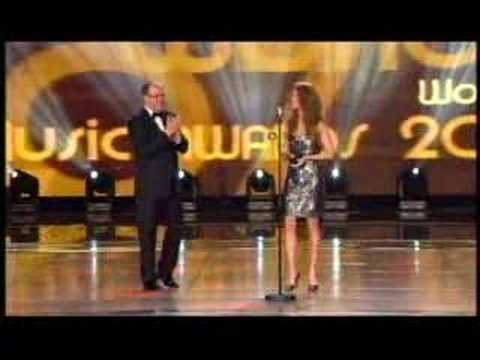 Celine Dion World Music Awards 2007