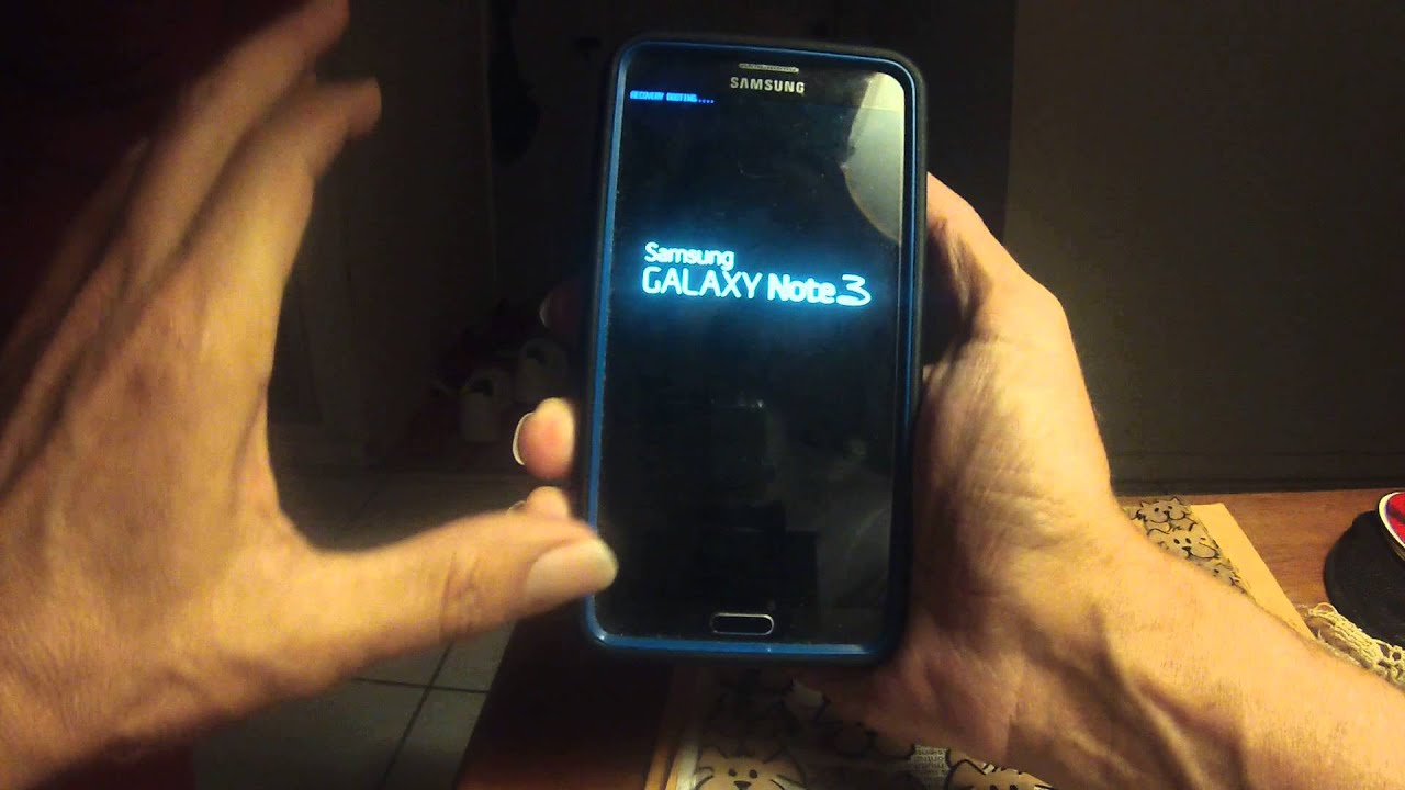 how to clear cache galaxy note 2