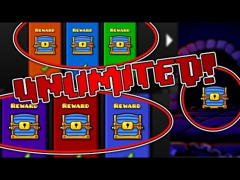 [PATCHED] Geometry Dash 2.1 Glitch | UNLIMITED CHESTS!