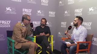 Rick Alverson and Jeff Goldblum - THE MOUNTAIN - 75 Venice Film Festival