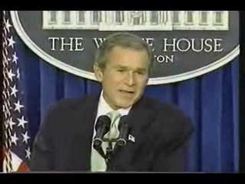 Bush: Truly not concerned about bin Laden (short version)