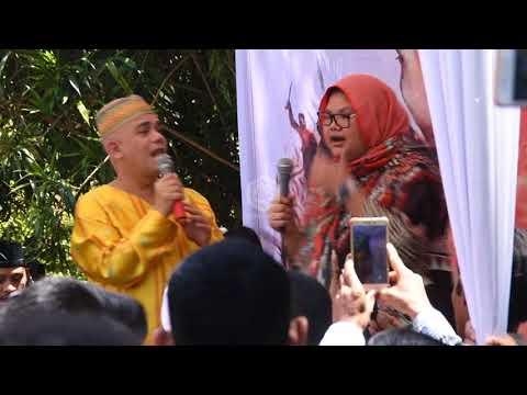 Aleta Molly dan Ozy Syahputra di Haul Cut Nyak Meutia  -  Aceh