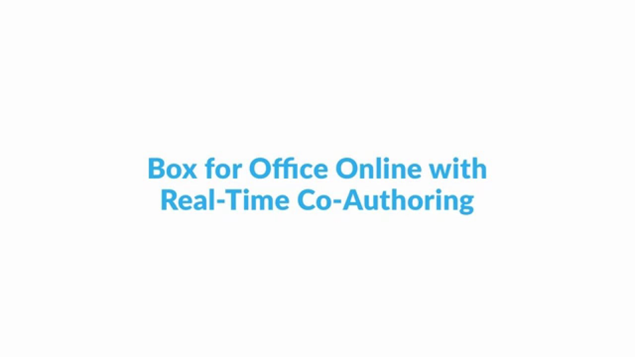 Box for Office Integrations
