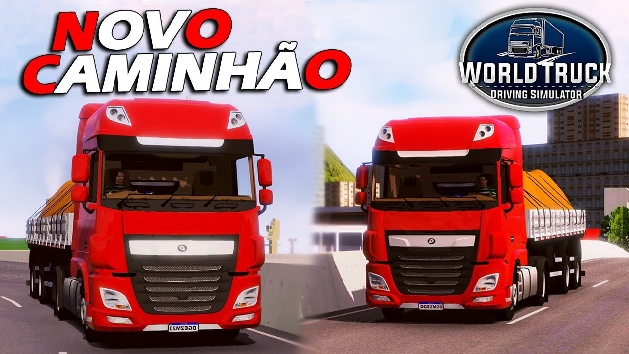 SAIU! NOVO CAMINHÃO na ATUALIZAÇÃO do World Truck Driving Simulator CONFIRMADO -NOVIDADES