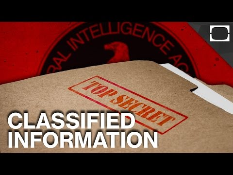What Does The US Government Keep Classified?