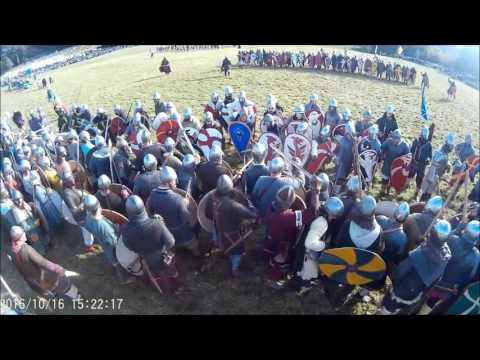 The battle of Hastings 950th anniversary reenactment 2016
