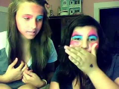 barbie and thumbalina makeup look!
