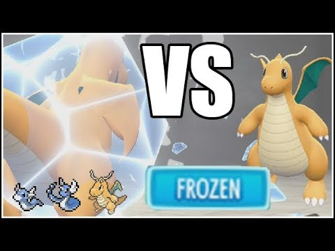 DRAGONITE MASTER TRAINER BATTLE! Pokemon Lets Go Eevee and Pikachu