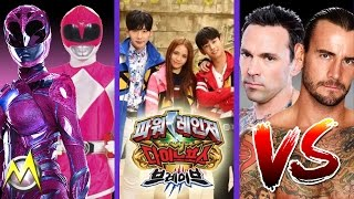 Download Video New Rangers get a Blast from the Past, The 'Brave' K-Pop Rangers, Tommy still wants to fight CM Punk MP3 3GP MP4