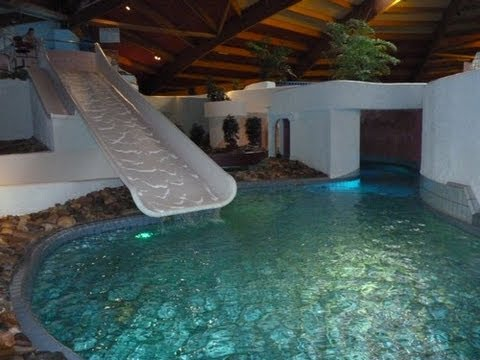 Zwembad De Scheg.Familie Glijbaan Offonslide De Scheg Deventer Holland