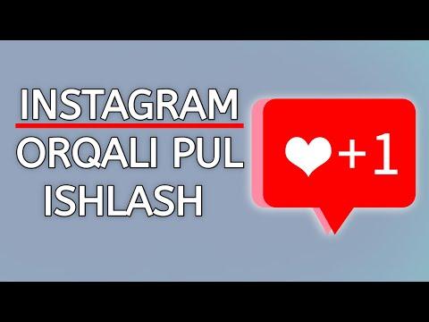Instagramda Pul Ishlash