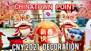 Chinese New Year 2021 Decorations  Chinatown Point