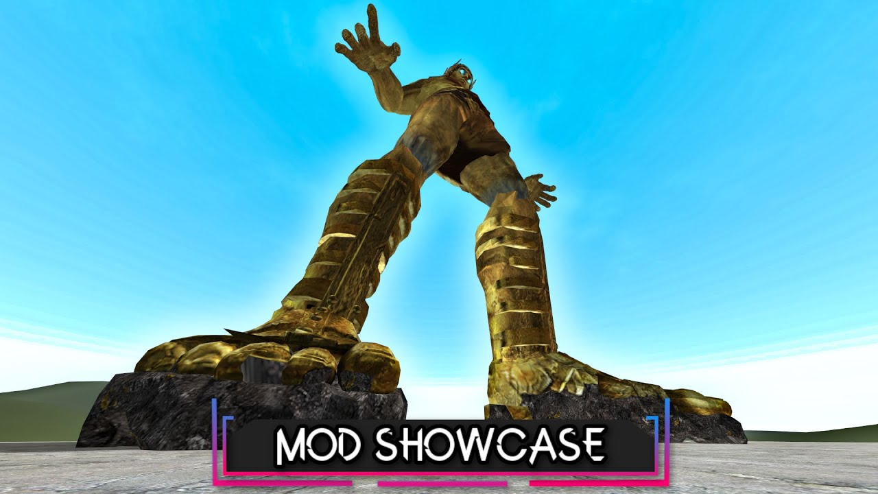 Is This Giant UNSTOPPABLE? (Colossus Of Rhodes) | Garry's Mod Showcase