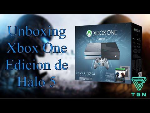 Unboxing Xbox One Edición Halo 5: Guardians en Español (MX) 1080p 60FPS