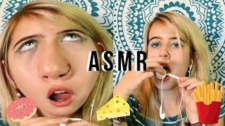 I tried ASMR   Trate de hacer ASMR por primera vez.   Helltles.