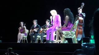 Rod Stewart - Las Vegas 2011 Have I told / You wear it well / Georgie