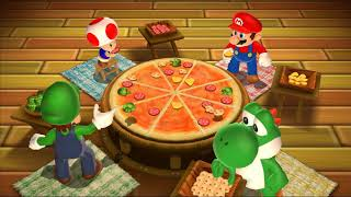 Mario Party 9 -  Toad vs Mario vs Luigi vs Yoshi Master Difficulty| Cartoons Mee