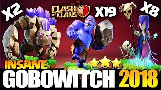 How to BoWitch - TH10 Attack Strategy for 3 Stars | Th10 Bowitch | Th10 Best war | Clash of Clans