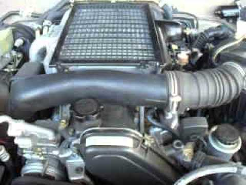 PRADO 1KZ-TE ENGINE RUNNING AT NARELLAN AUTO PARTS PLUS ...
