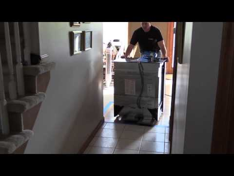 Moving Heavy Appliances with the Crain 280 HD Air Lifter
