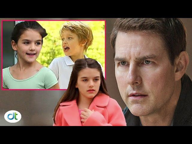 Tom Cruise was angry when Brad Pitt\'s daughter Shiloh hurt Suri after refusing to go out