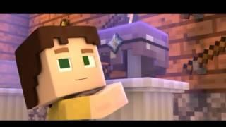 Marshmallow alone #minecraft parody song 1