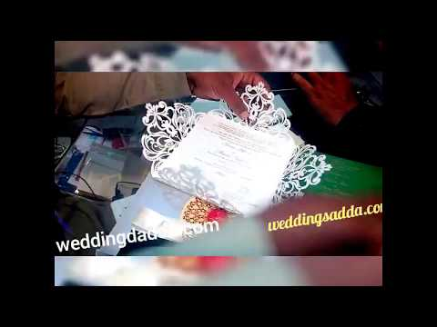 Laser cut wedding cards lahore Pakistan , laser cutting wedding Card 2020