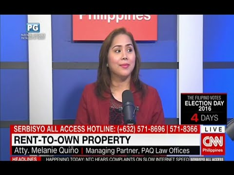 CNN Philippines: RENT-TO-OWN PROPERTY