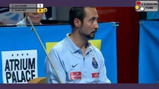 Semih Sayginer vs Daniel Sanchez - Billiard 3 Cushion at Club Billiard Barcelona