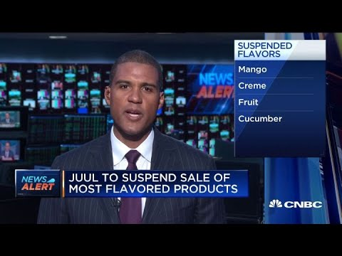 Juul To Suspend Sale Of Most Flavored Products